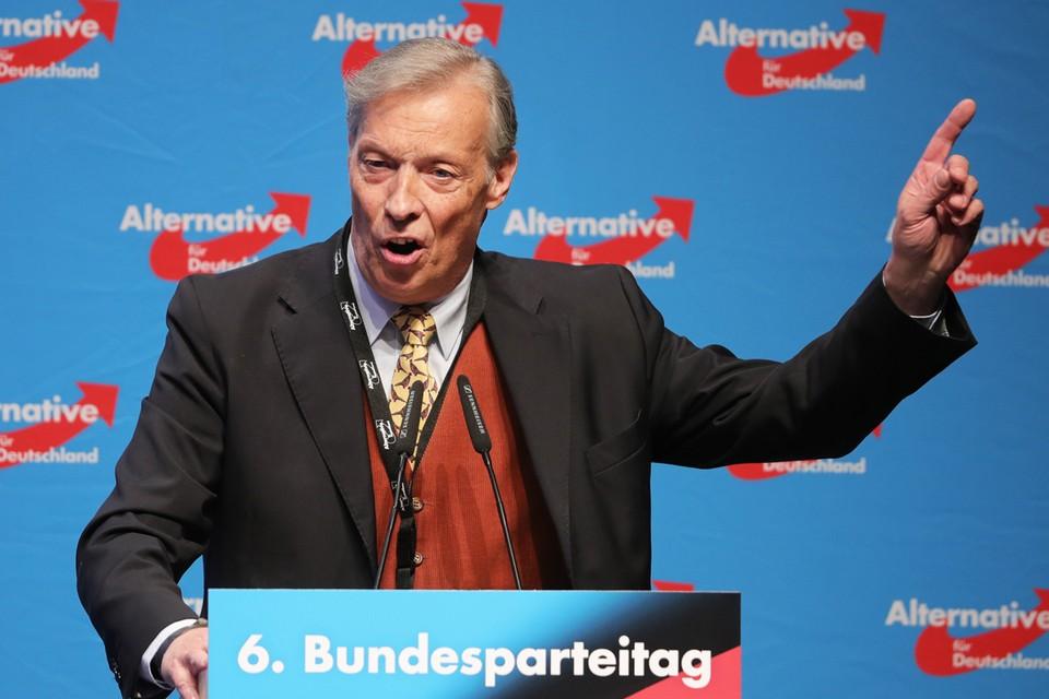 Спикер фракции «Альтернативы для Германии» по международным делам Армин-Паулюс Хампель ответил на попытки исказить историю Второй мировой