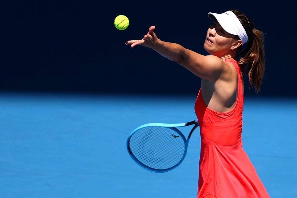 Российская теннисистка проиграла в первом же круге