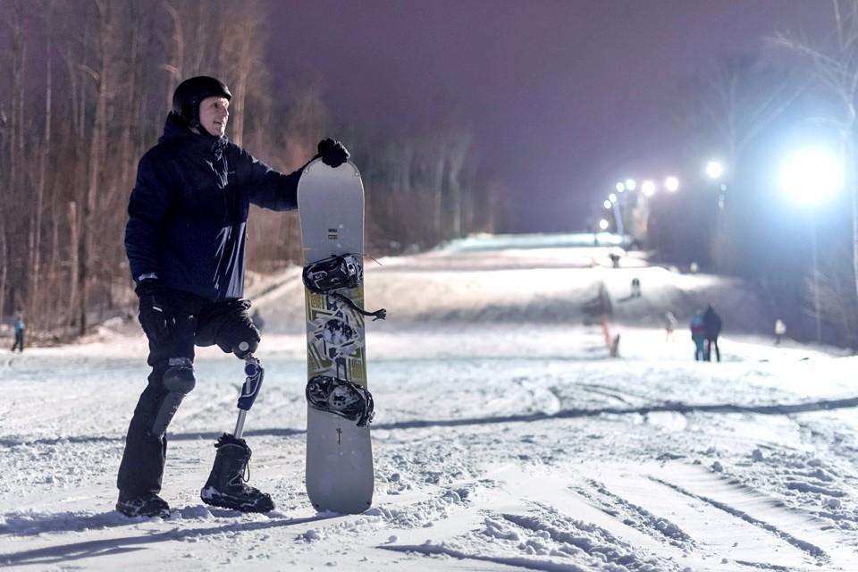 Сергей Новиков с детства занимался спортом, никакие травмы не смогли этому помешать