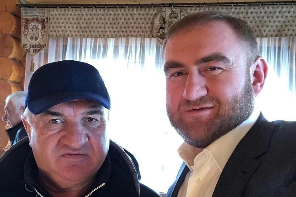 Рауль (слева) и Рауф Арашуковы