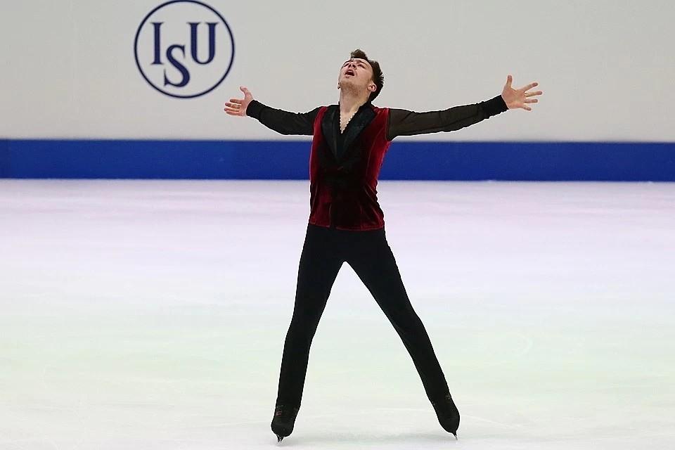 Дмитрий Алиев откатал свою программу идеально