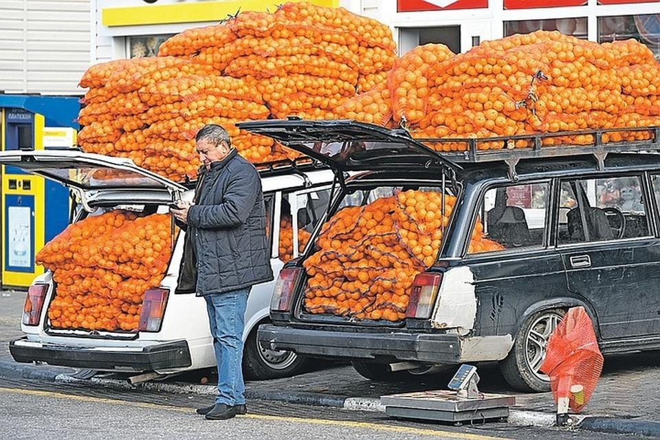 Главный экспортный товар Абхазии - мандарины. Ну и еще море для курортников и клятвы в верности России - для получения дотаций и пенсий. На этом страна и живет.