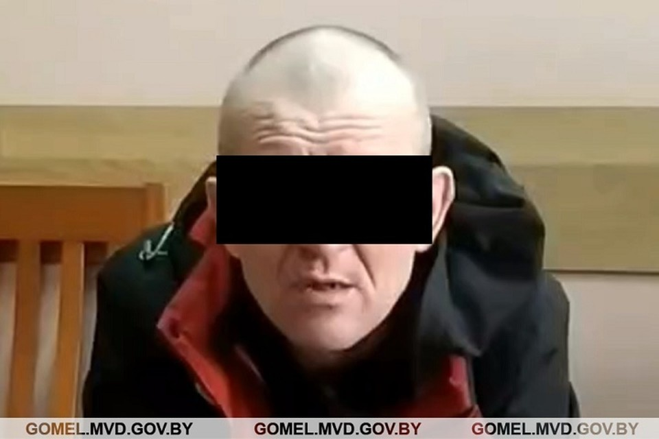 Напавшего на таксиста мужчину обнаружили на автотрассе. Фото: УВД Гомельского облисполкома.