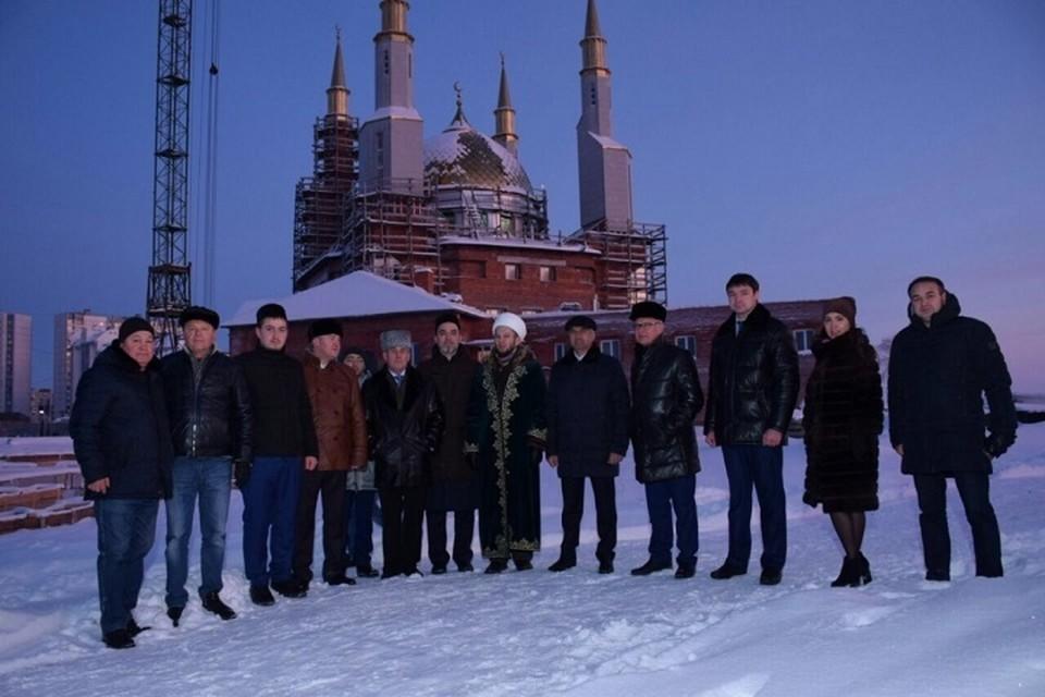 Соборную мечеть в Нижневартовске построят к лету 2021 года. Фото администрации города.