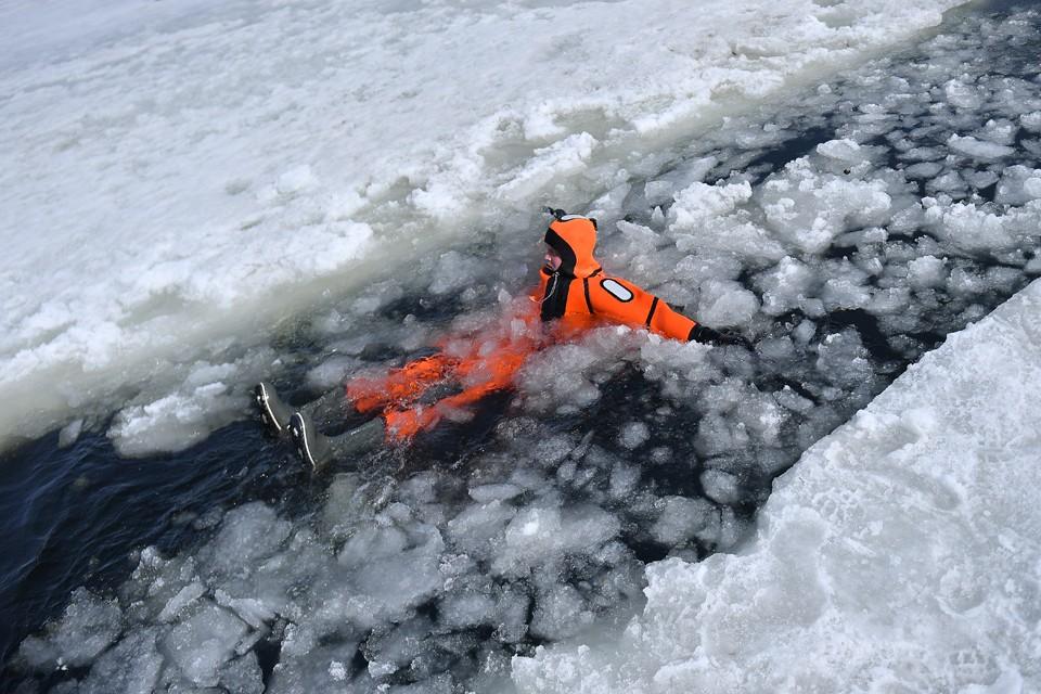 В заливе спасатели не нашли терпящих бедствие.