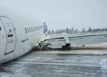 Некоторые пассажиры самолета, который совершил жесткую посадку в аэропорту Усинска, не могут получить багаж