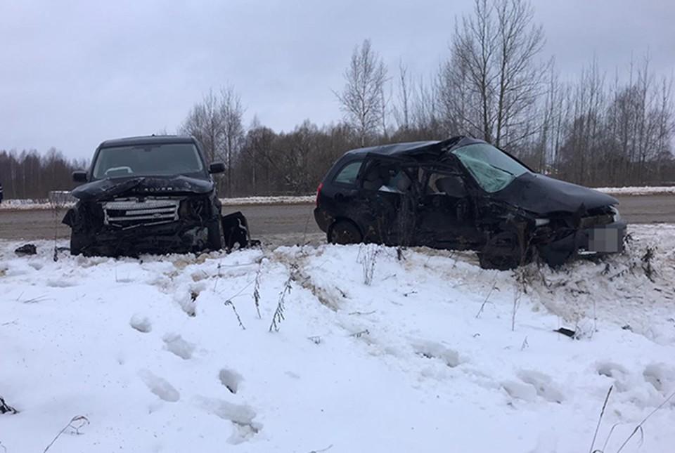 В ДТП пострадала женщина-водитель Фото: УГИБДД России по Тверской области