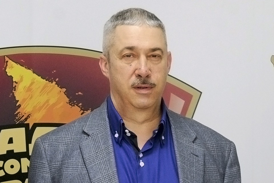Михаил Юрьев на Радио «Комсомольская правда».