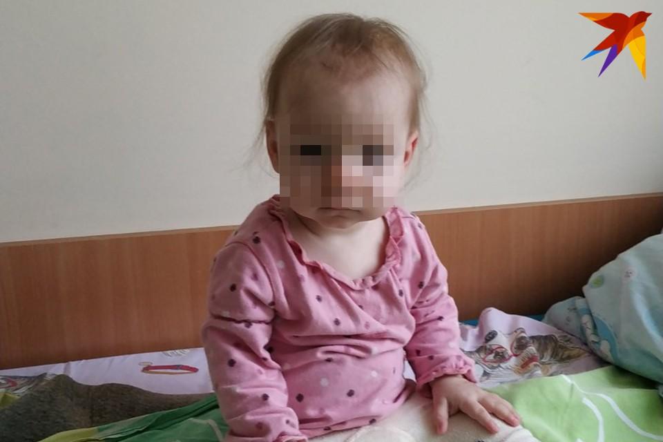 Таинственным образом 11-месячная Мирослава оказалась заражена вирусом иммунодефицита человека. Фото: личный архив