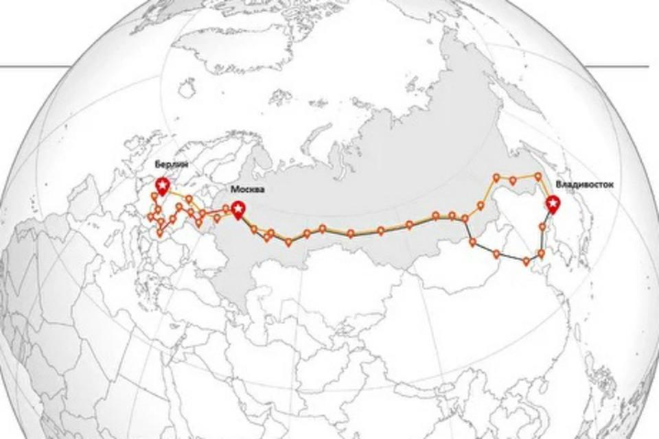 У хабаровчан родилась идея грандиозной экспедиции «От Дальнего Востока до Берлина» ФОТО: сайт экспедиции «От Дальнего Востока до Берлина»
