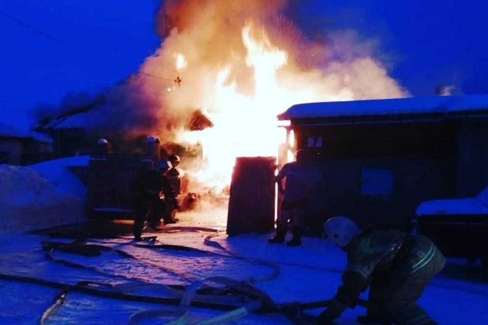 Пожар случился во вторник, 18 февраля. Фото: Марина Голубева