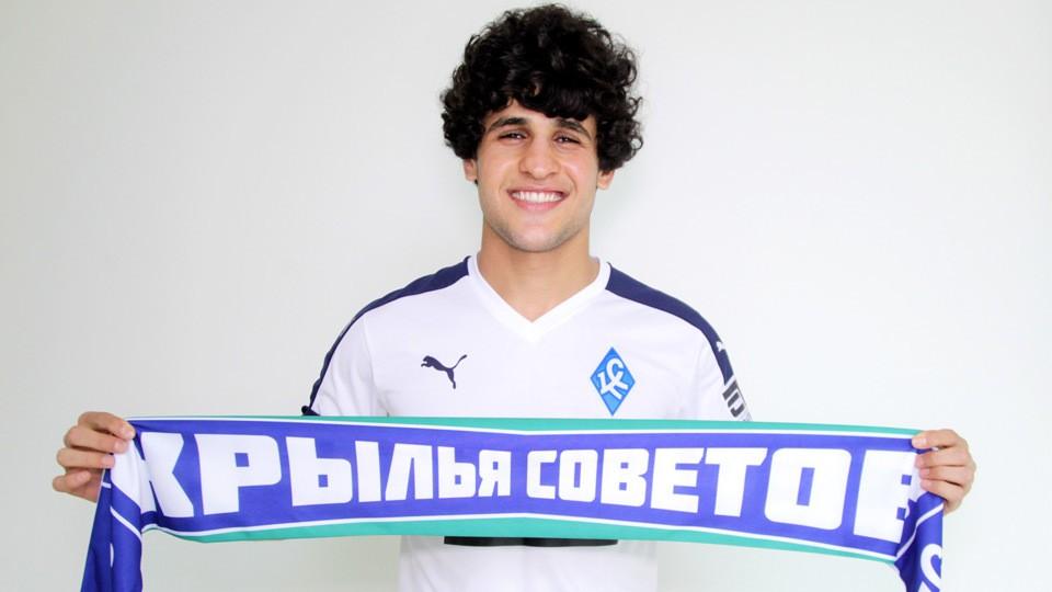В «Крылья Советов» игрок перешел из багдадского клуба «Al-Shorta».