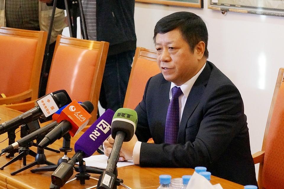 Чжан Ханьхуэй затронул тему судьбы россиян, остающихся в центре эпидемзоны