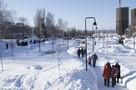 Утро в Ижевске: возможные причины обрушения лестницы в строящемся доме, виртуальные пробки на дорогах и упавший в реку школьник