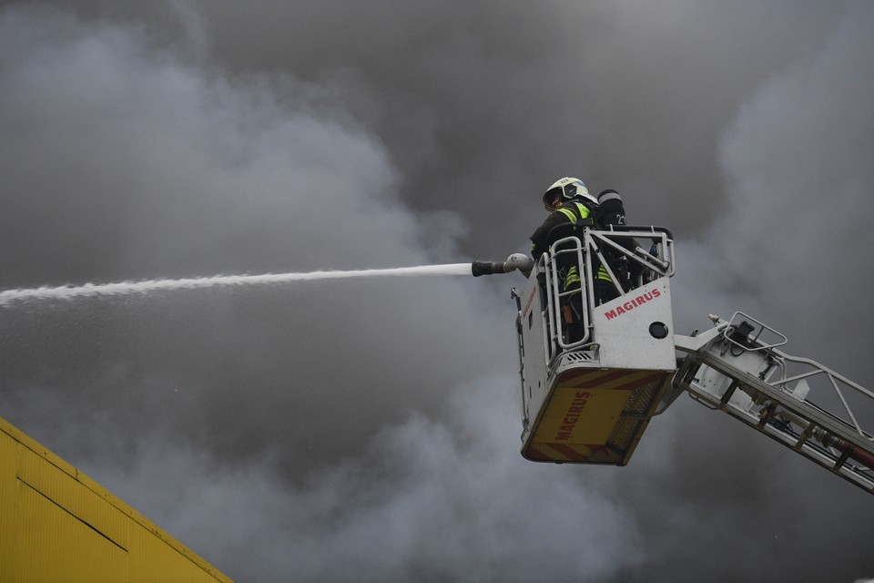 Пожарные спасли мужчину
