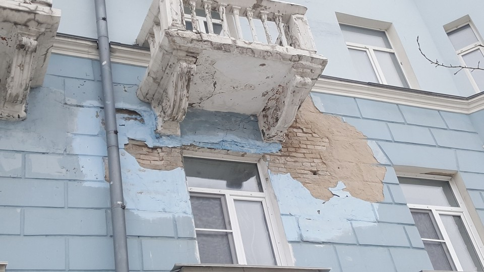 Дом на пр-кте Строителей, 21. Фото: Игорь Берг