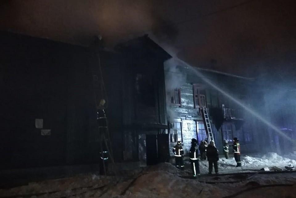 """Поджог произошел в начале первого ночи. Фото: читатель """"КП"""""""