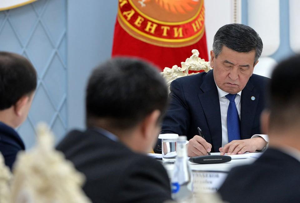Президент подчеркнул, что ситуация по коронавирусу находится под его личным контролем.
