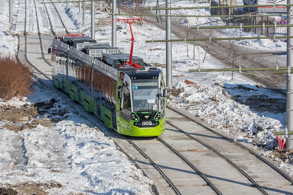 Конкретных сроков запуска трамваев на Гранитной пока нет.