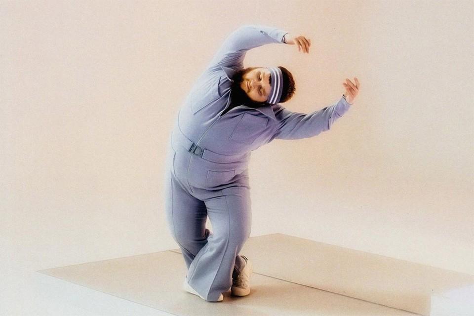 Актер Дмитрий Красилов на съемках клипа Little Big