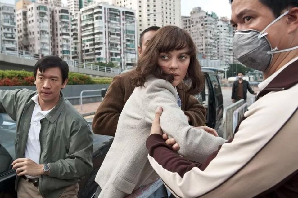 Кадр из фильма Стивена Содерберга «Заражение», снятого 9 лет назад.