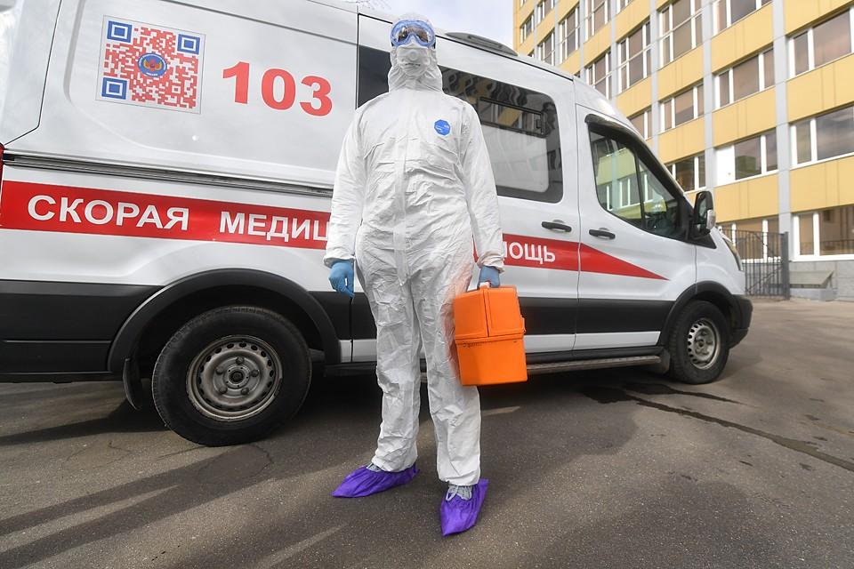 «Коронавирусные» бригады сейчас есть на каждой подстанции скорой помощи в Москве и Подмосковье