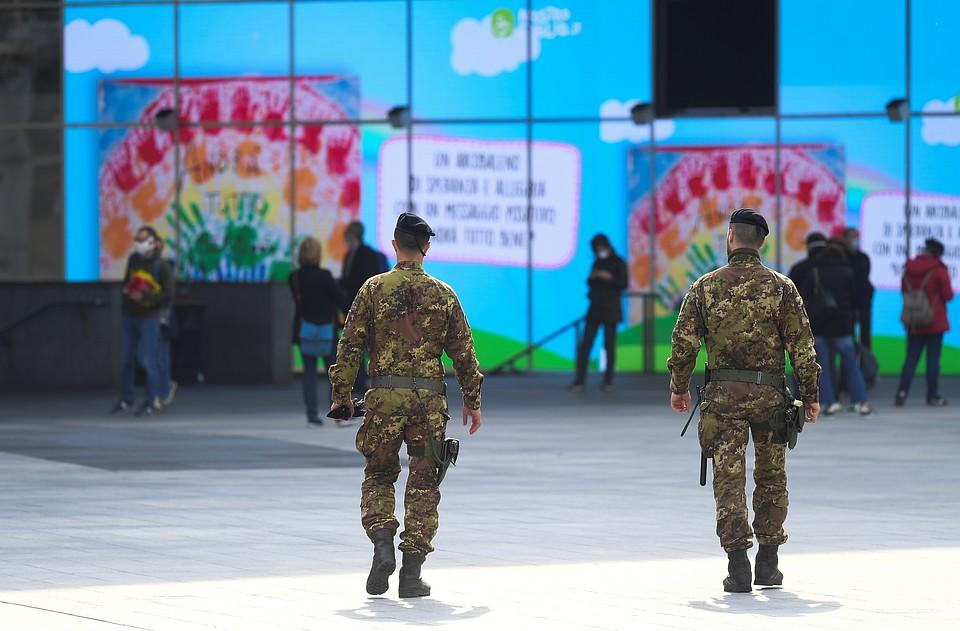 Союзники Рима по НАТО и ЕС не просто не помогают итальянцам в борьбе с заразой, но и откровенно готовы вонзить нож в спину.