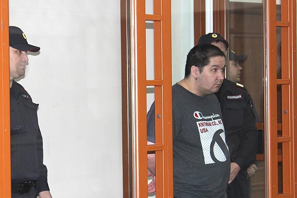 Дмитрий Лебедь на суде. Фото: Верховный суд Хакасии