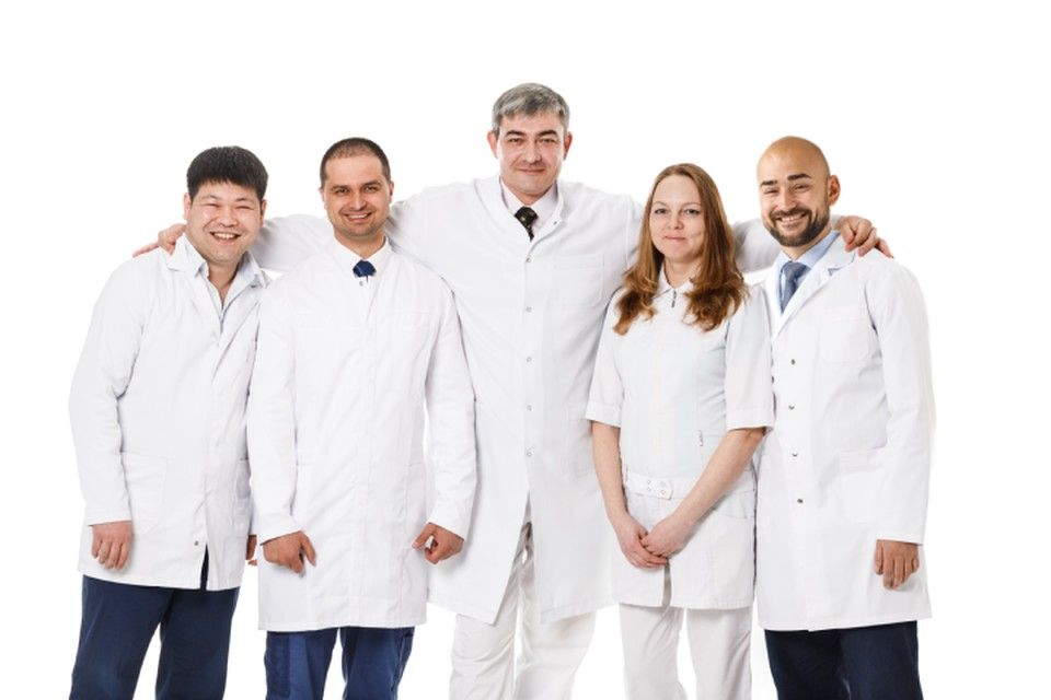 Команда медицинского центра «ФлебоЛайф» – это постоянный и сплоченный коллектив профессионалов. Фото из архива клиники.