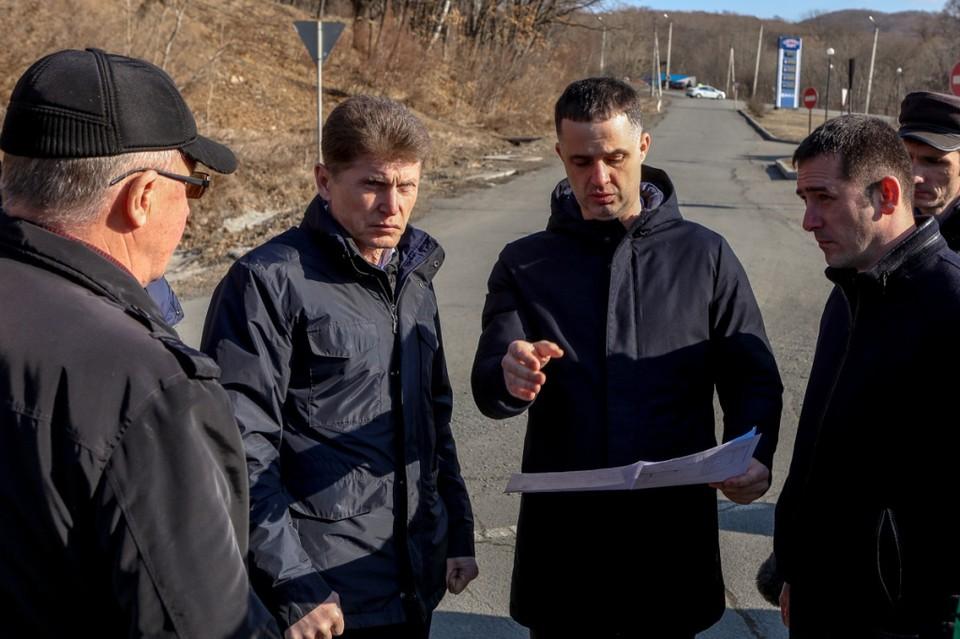 Строительство нового моста начнется в конце мая. Фото: пресс-служба правительства Приморского края