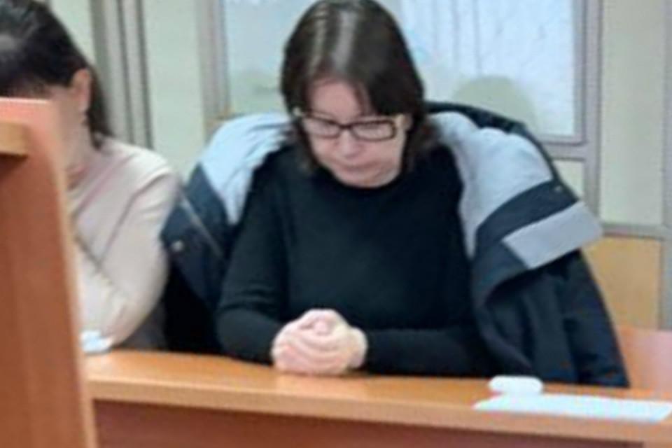 Наталья Стришняя в зале суда. Фото: Генрих Хачатуров