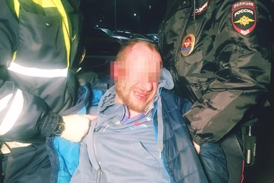В Петербурге возбудили уголовное дело на пьяного водителя, сбившего инспектора ДПС. Фото: vk.com/dorinspb