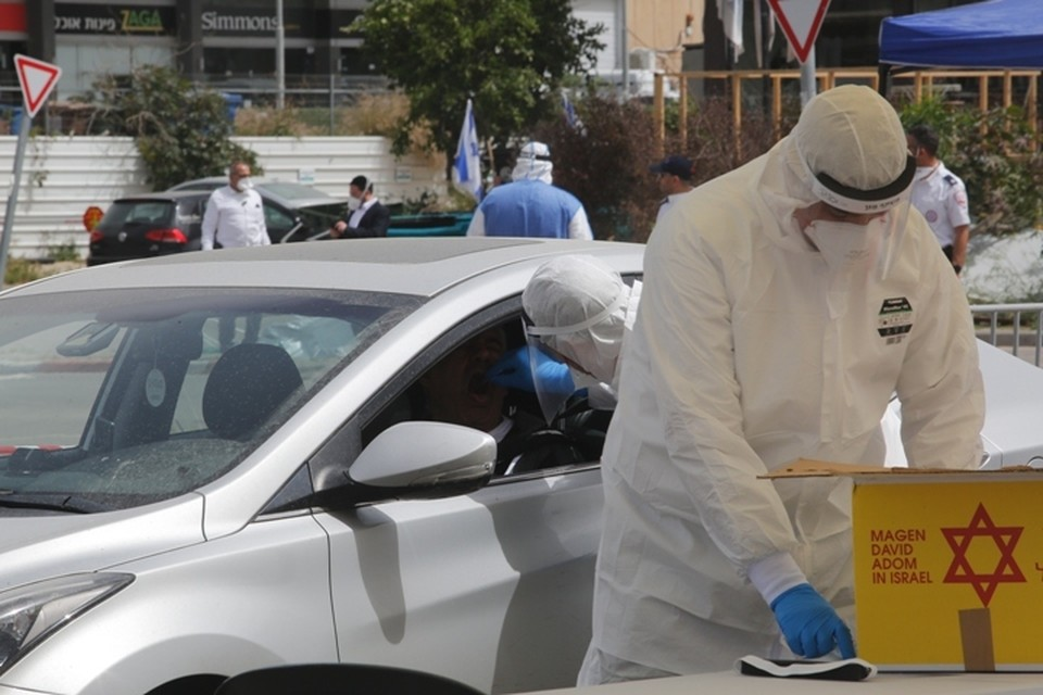 В Израиле заразились коронавирусом 6092 человека
