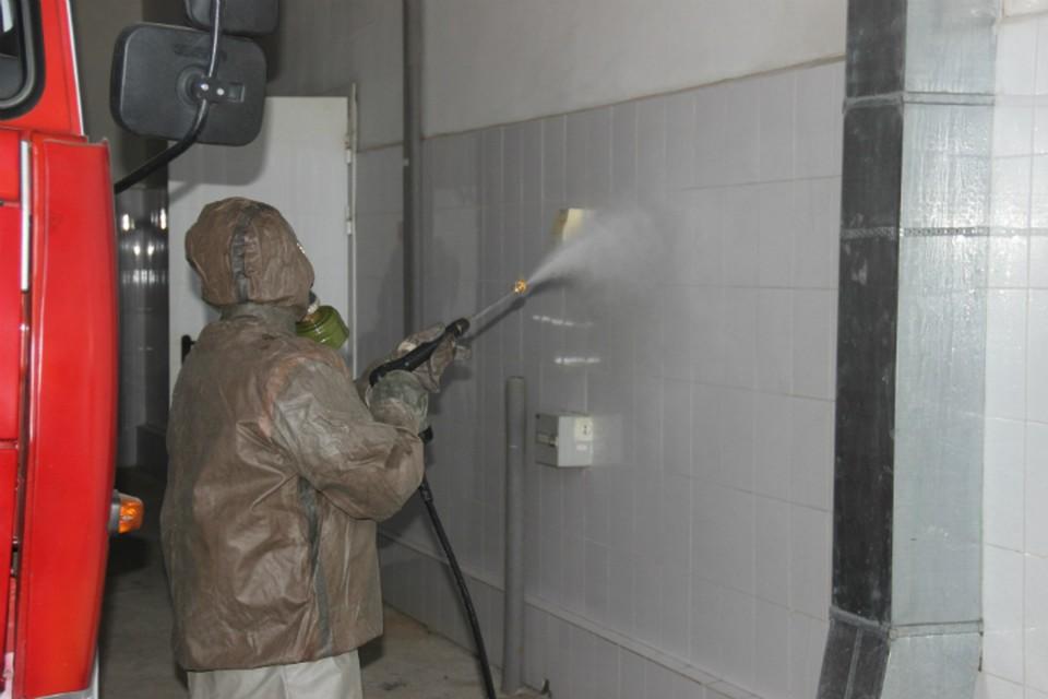 Спасатели в Хабаровском крае защищаются от коронавируса