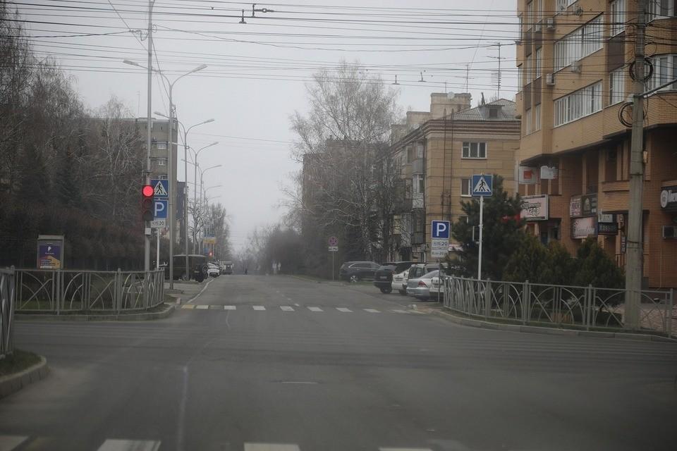 За день до всеобщей самоизоляции улицы Ставрополя были пусты