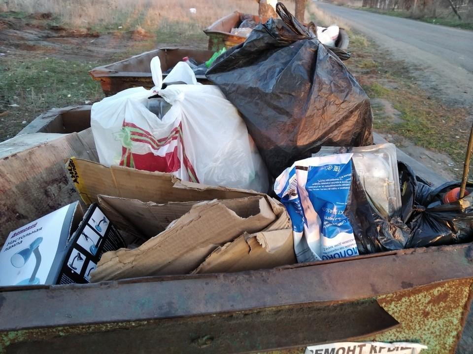В Белгородской области заметно возросло количество твердых бытовых отходов.