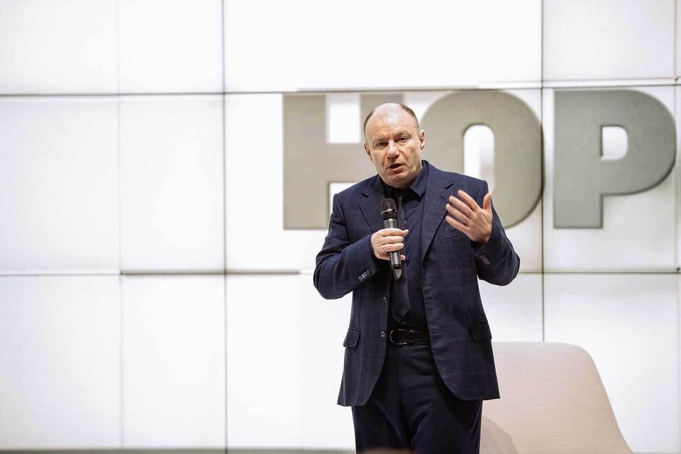 Владимир Потанин: «Сейчас нужно спасать малый бизнес и людей». Фото: Пресс-служба «Норникеля».