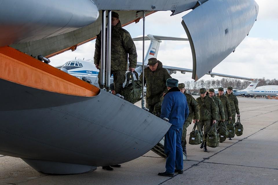 Россия отправила в Сербию 11 самолётов Ил-76 со специалистами и медтехникой