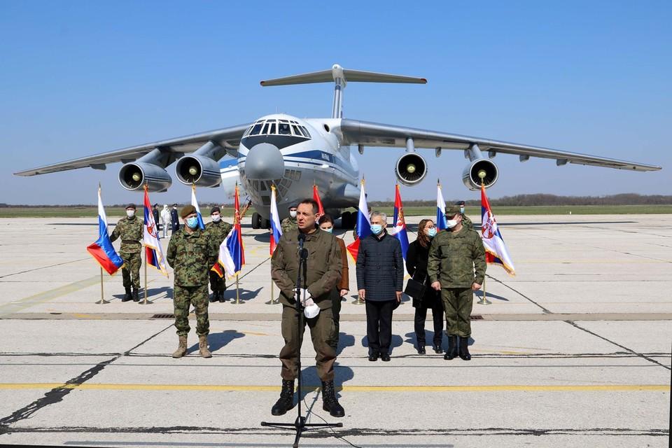 Всего в республику было переброшено 11 самолетов с оборудованием и личным составом.