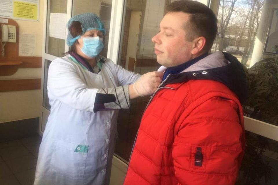 """Введены меры повышенного контроля за состоянием здоровья сотрудников. ФОТО: пресс-служба """"Группы ГАЗ"""""""