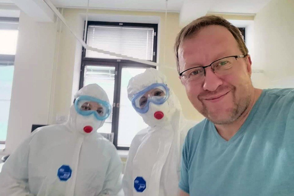Александр стал одним из первых российских пациентов, которого лечили переливанием донорской плазмы