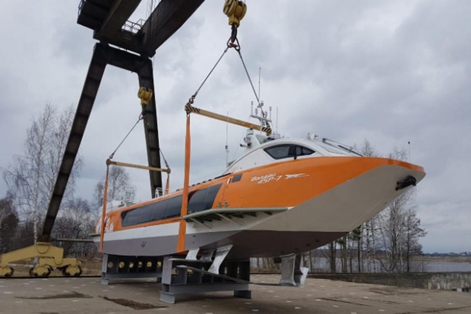 Четвертый «Валдай 45Р» спустили на воду в Чкаловске