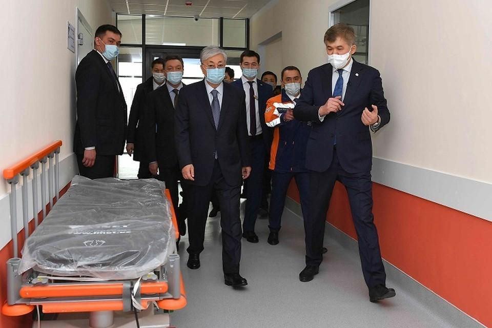 Главной задачей, стоящей перед государством, Касым-Жомарт Токаев назвал сохранение здоровья граждан.
