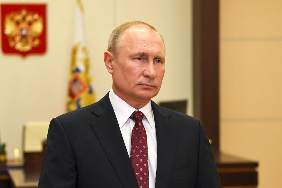 Президент России Владимир Путин в интервью программе «Москва. Кремль. Путин» рассказал о том, в чем он видит национальную идею. Фото: Алексей Никольский/ТАСС