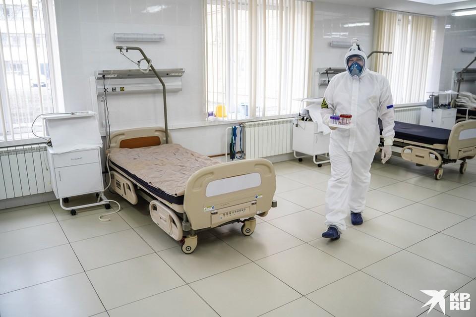 В Самарской области для пациентов готовы и койки с ИВЛ, и без аппаратов