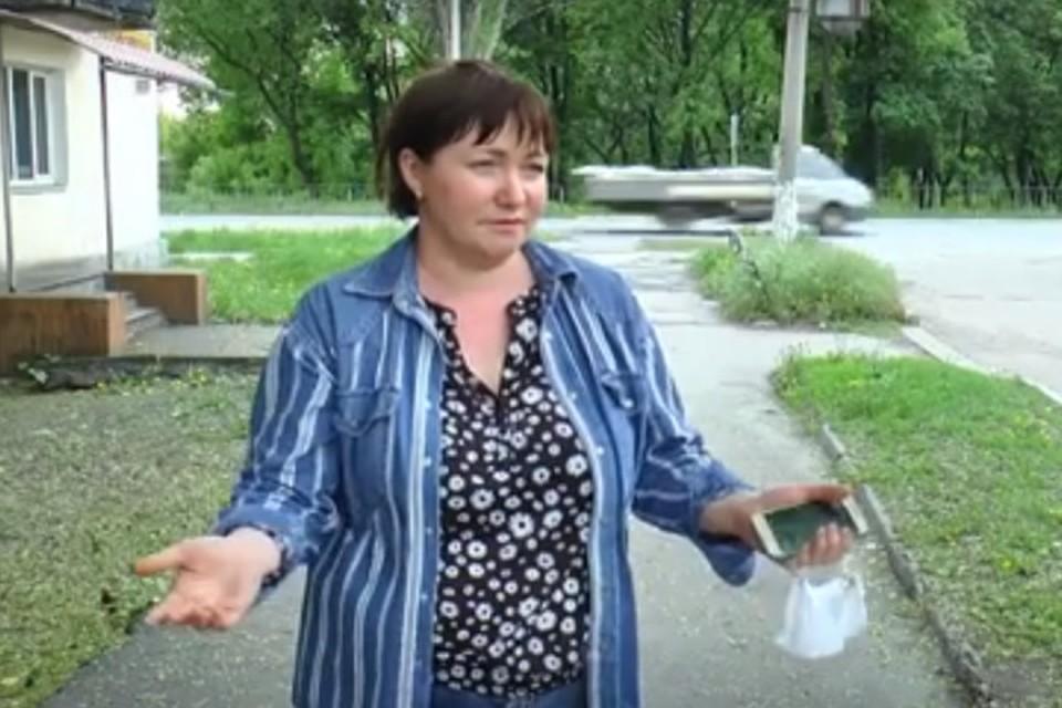 Наталья Бородина эмоционально рассказала, как стала свидетелем убийства двух щенков. Фото: ТК «Донбасс»
