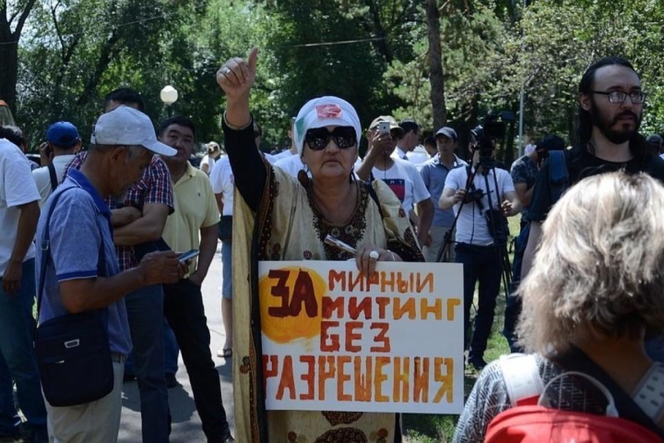 Митинги в режиме «лайт»