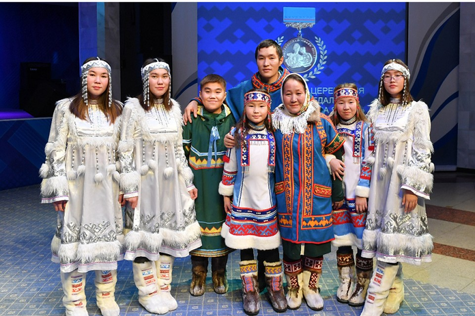 Победители премии «Семья Ямала» получат по 250 тысяч рублей Фото: yanao.ru