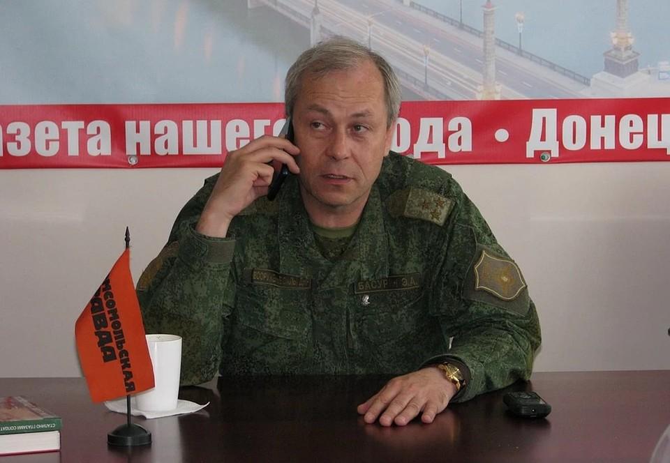 Басурин: Украинские боевики 91 раз за неделю нарушили перемирие