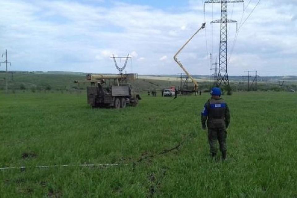 Персонал был эвакуирован. Фото: Представительство ЛНР в СЦКК